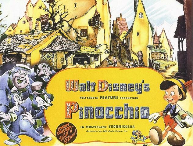 1940 - PINOCCHIO- W.DISNEY - USA  Pinocc14