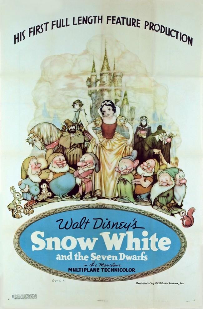 1937 - BLANCHE NEIGE ET LES SEPT NAINS - W.DISNEY - USA Snowwh10