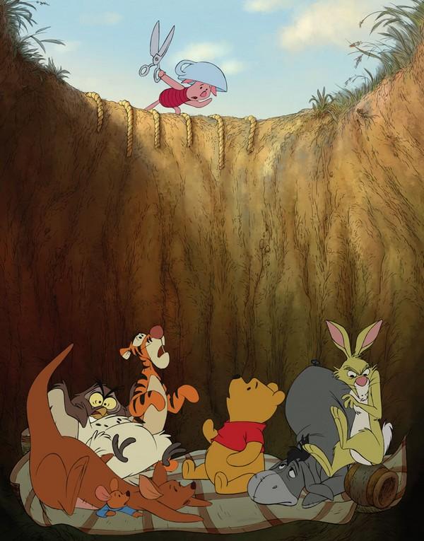 WINNIE L'OURSON - W. Disney Animation - Eté 2011 -  Winnie10