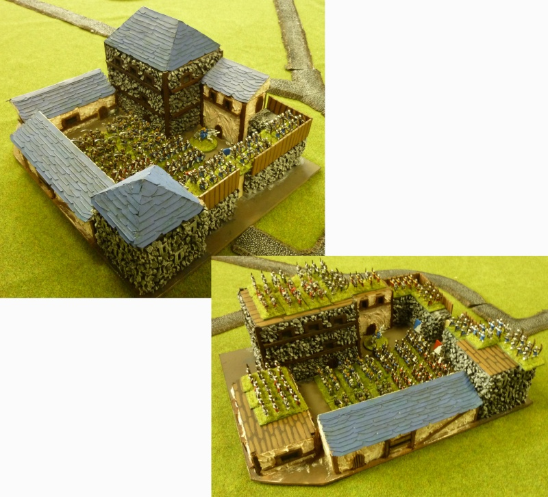 Orcs vs bretonniens - maison fortifiée Orcvsb12