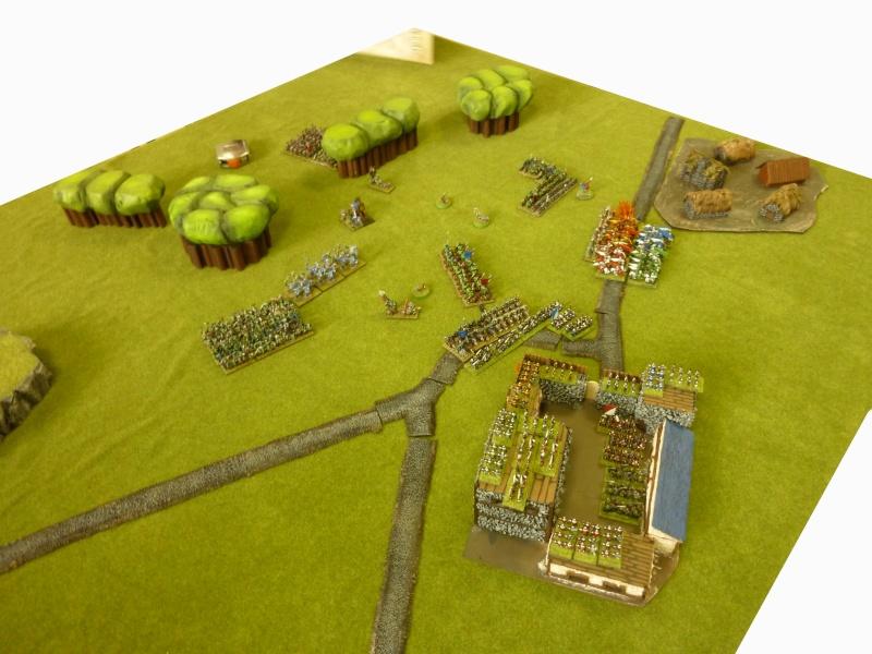 Orcs vs bretonniens - maison fortifiée Orcvsb16
