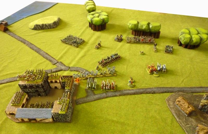 Orcs vs bretonniens - maison fortifiée Orcvsb19