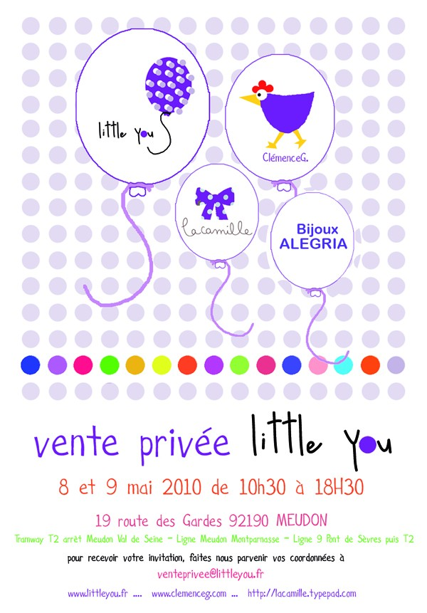 Une nouvelle enseigne meudonnaise ... en ligne !!! www.littleyou.fr Ventep11