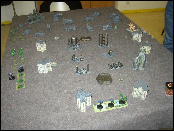 [LYON] 18/12/2010 - Space Marines vs Adeptus Mechanicus 20101210