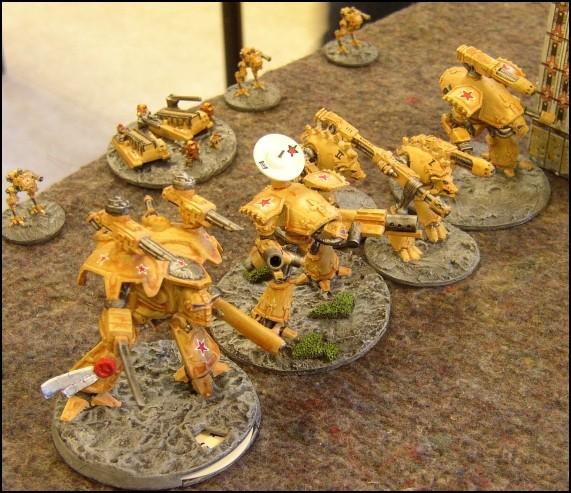 [LYON] 18/12/2010 - Space Marines vs Adeptus Mechanicus 20101211