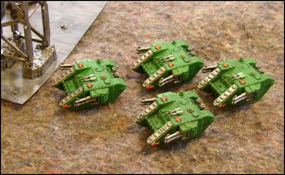 [LYON] 18/12/2010 - Space Marines vs Adeptus Mechanicus 20101212