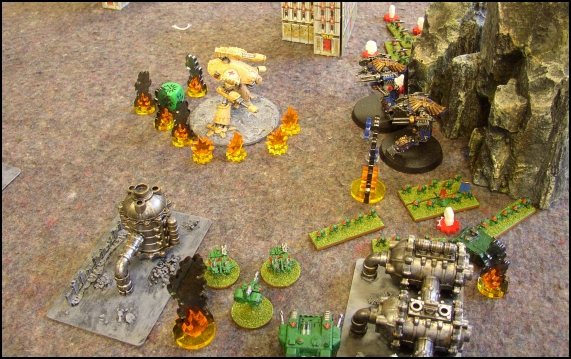 [LYON] 18/12/2010 - Space Marines vs Adeptus Mechanicus 20101216