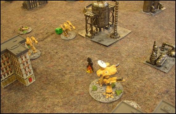 [LYON] 18/12/2010 - Space Marines vs Adeptus Mechanicus 20101218