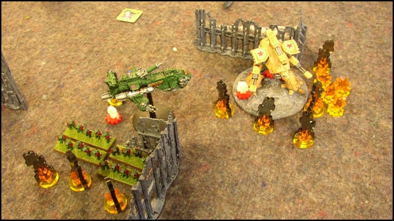 [LYON] 18/12/2010 - Space Marines vs Adeptus Mechanicus 20101219