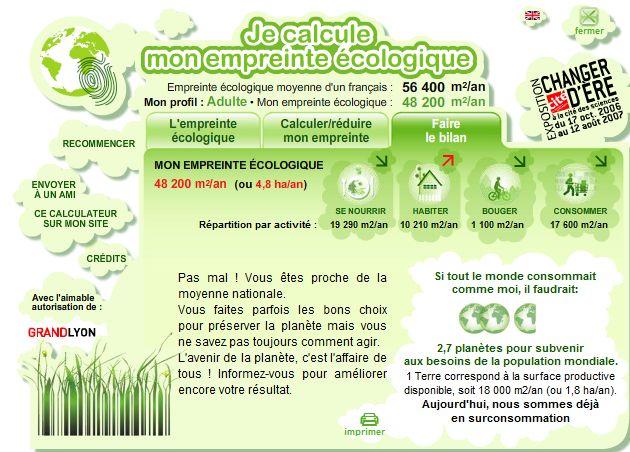 Calculer son empreinte écologique Captur10