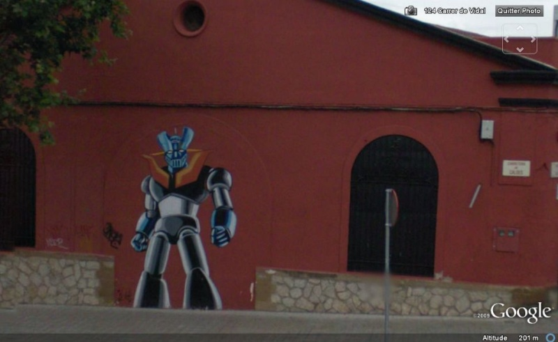 STREET VIEW : les fresques murales - MONDE (hors France) Mazing10