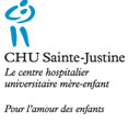 Le CHU Sainte-Justine vous remercie! Logo2010