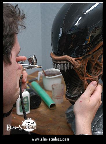 tete alien echelle 1 Alien-10