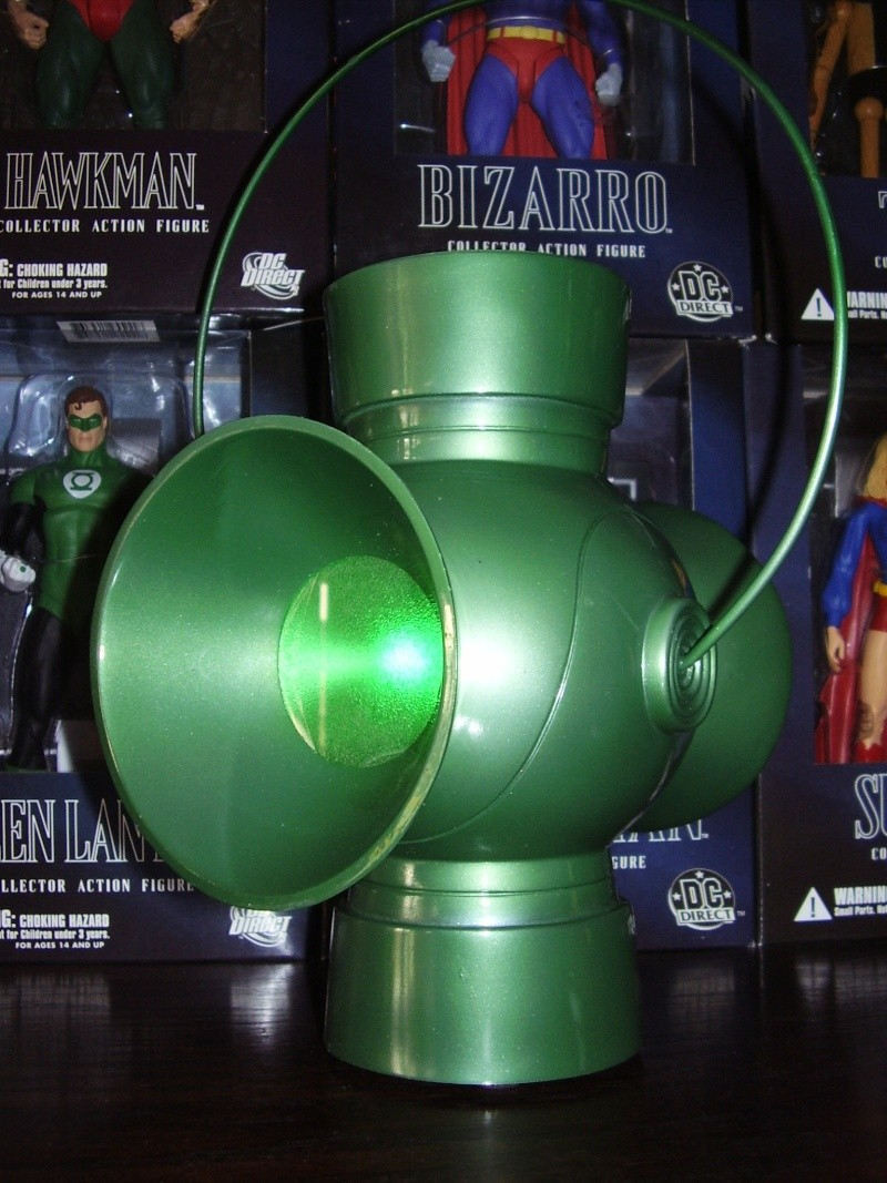 JLA TROPHY ROOM: GREEN LANTERN POWER BATTERY PROP REPLICA Batter11