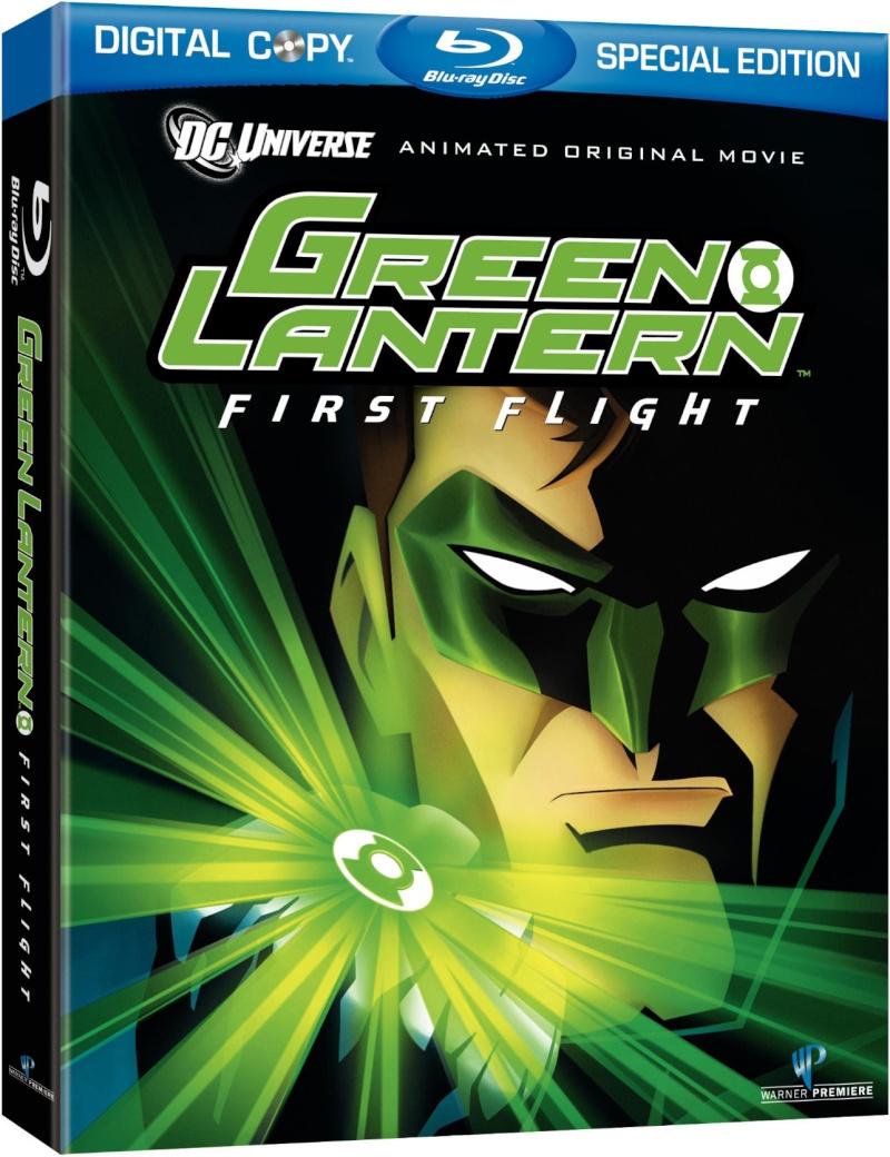 GREEN  LANTERN : FIRST  FLIGHT Bluray11