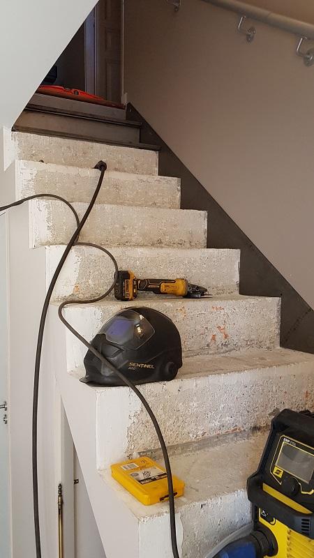BauBuche sur escalier béton 20190813