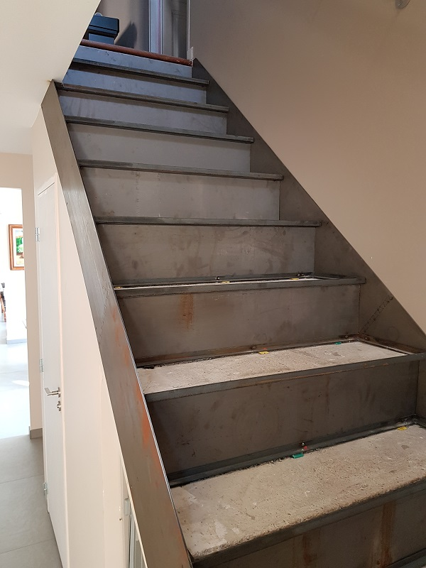 BauBuche sur escalier béton 20190814