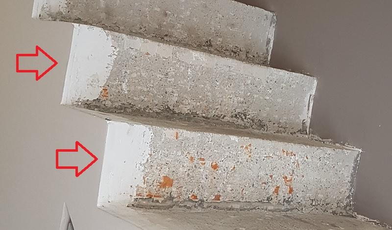 BauBuche sur escalier béton Escali14