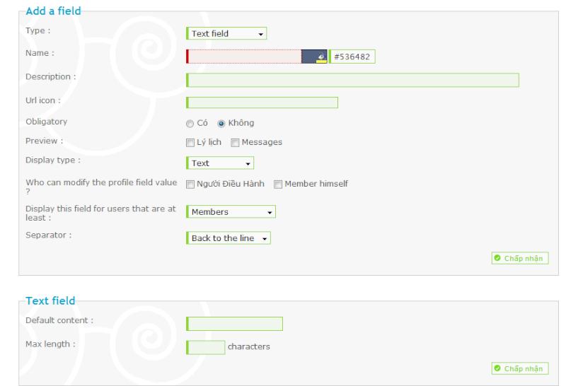 Hướng dẫn thêm các chi tiết cho profile Buoc0210