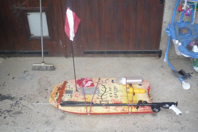 fabrication d'une planche de chasse 00714