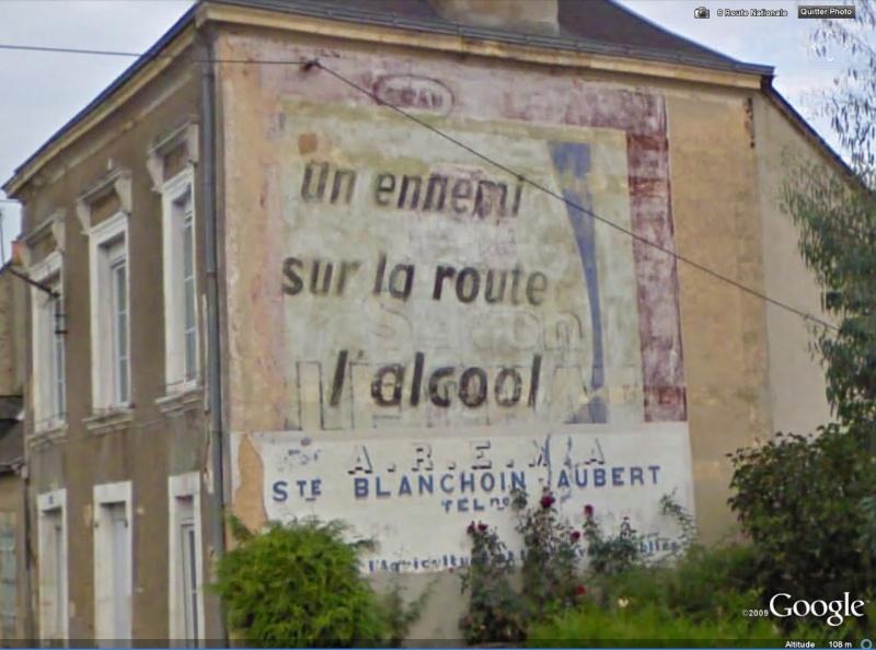 STREET VIEW : Vieilles publicités murales - Page 3 Alcool10