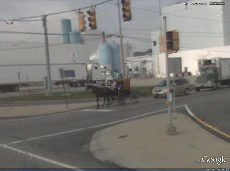 STREET VIEW : à la découverte des Amishs Amish210