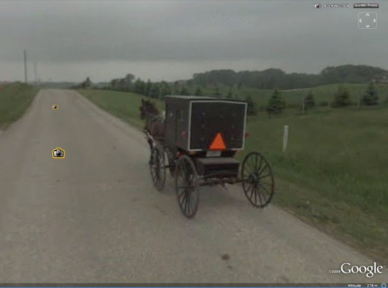 STREET VIEW : à la découverte des Amishs Amish410