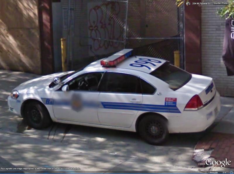 STREET VIEW : véhicules de police du monde Baltim10
