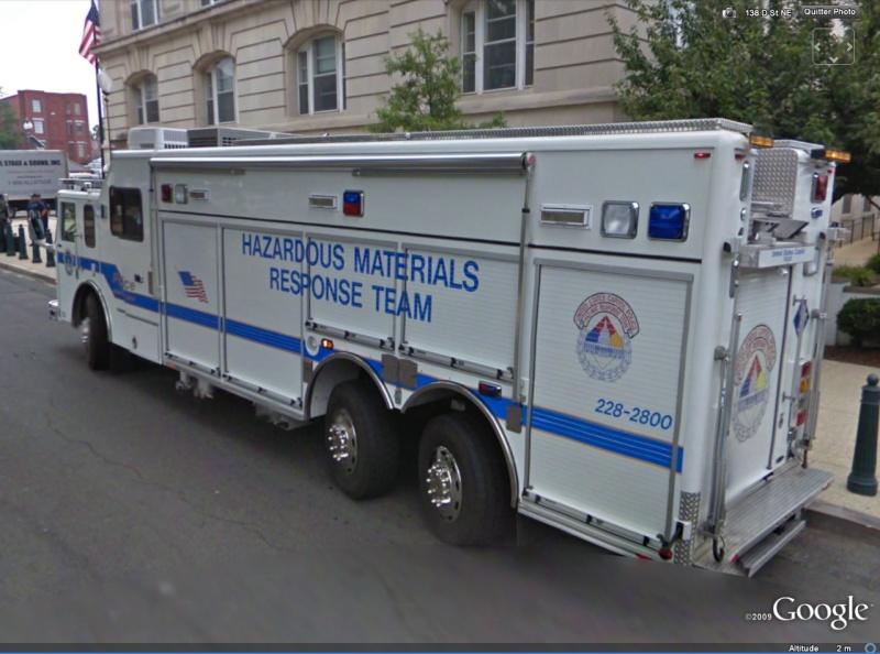 STREET VIEW : véhicules de police du monde Camion10