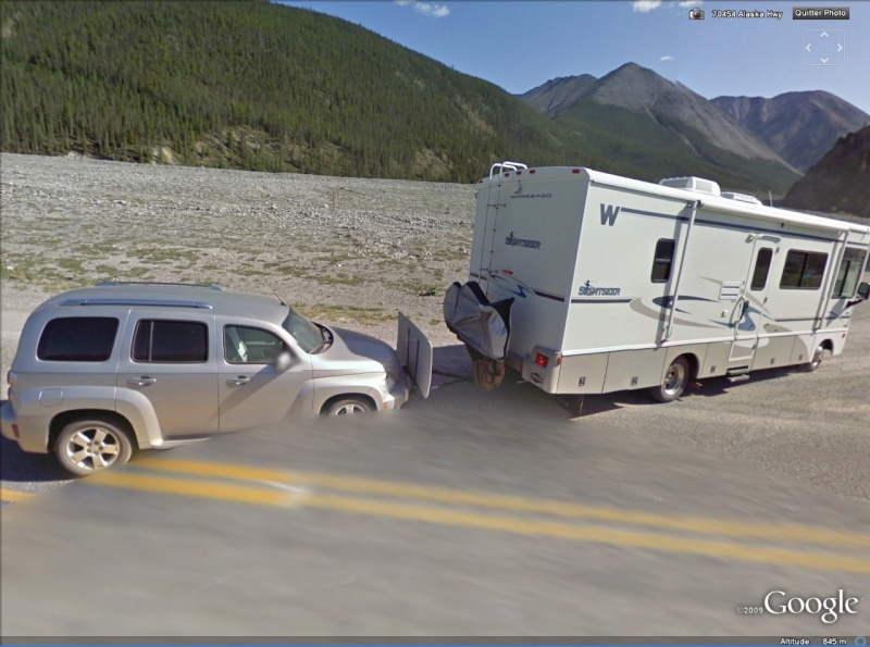 STREET VIEW : le camping à l'américaine, Yukon Campin10