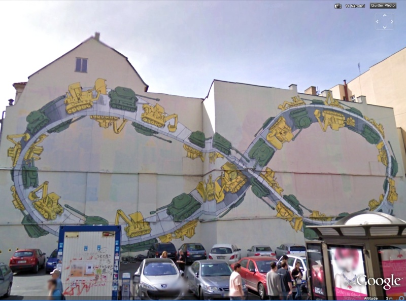 STREET VIEW : les fresques murales - MONDE (hors France) Chars10