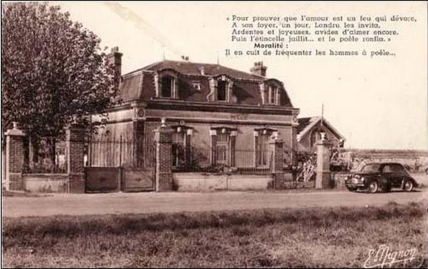 Maison de Landru, Gambais, Yvelines Cp10
