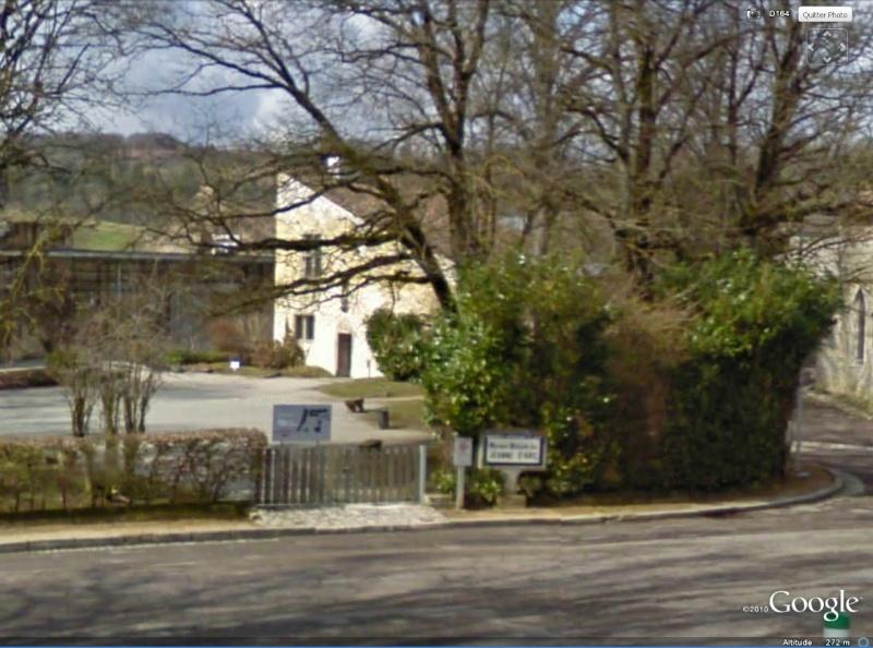 """Maisons natales des """"grandes figures"""" repérées dans Google Earth Domrem10"""
