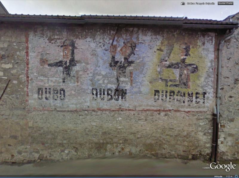 STREET VIEW : Vieilles publicités murales Dubo10