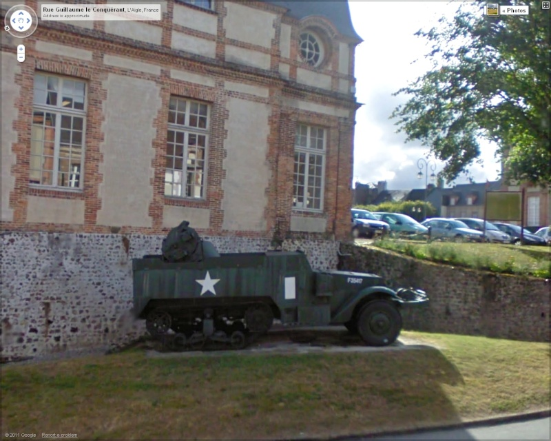 STREET VIEW: Véhicules militaires Half10