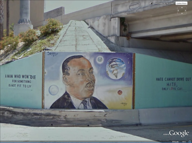 STREET VIEW : les fresques murales - MONDE (hors France) - Page 5 Mlk10