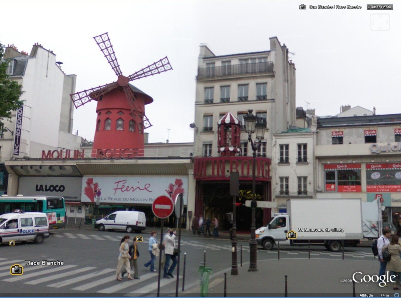 Cartes postales anciennes Vs StreetView Moulin11