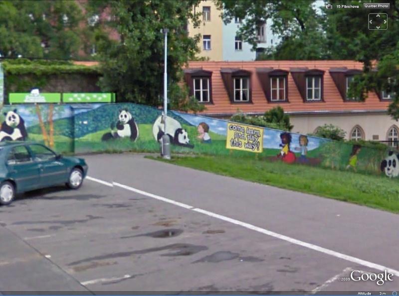 STREET VIEW : les fresques murales - MONDE (hors France) Pandas11