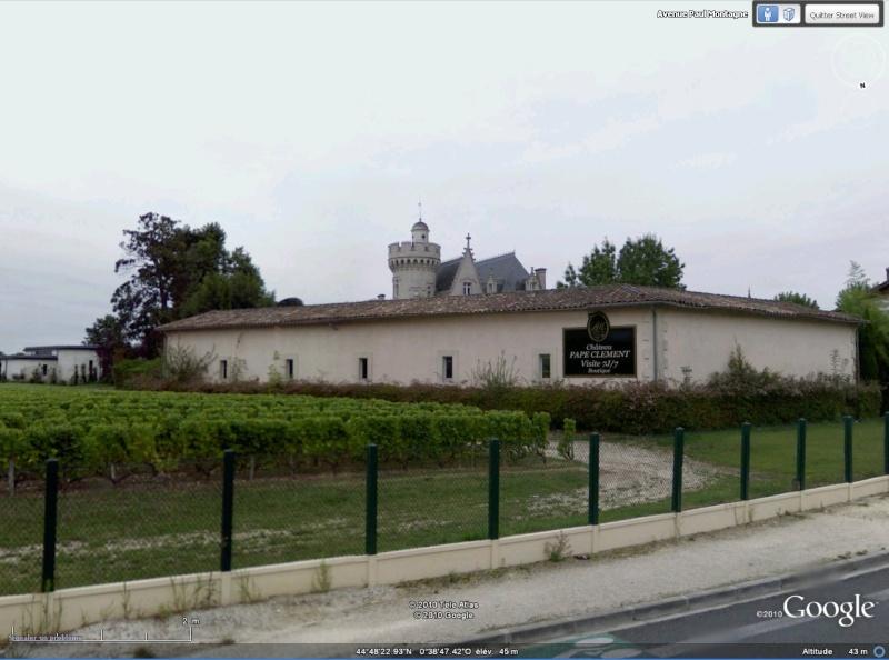 STREET VIEW : Les vignobles Pape_c10