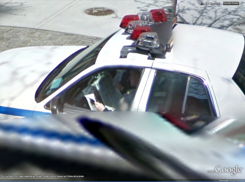 STREET VIEW : Comment coincer la bulle Police13