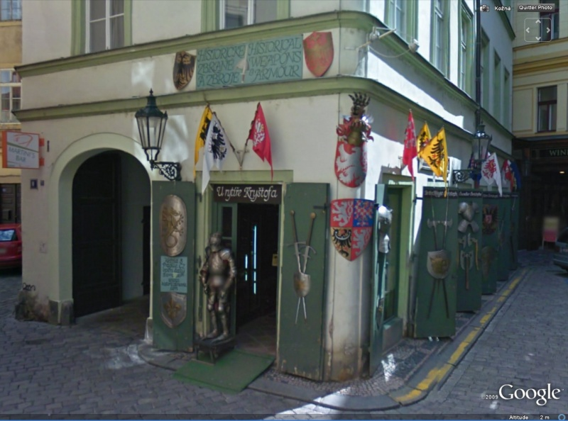 STREET VIEW : les façades de magasins (Monde) Prague10
