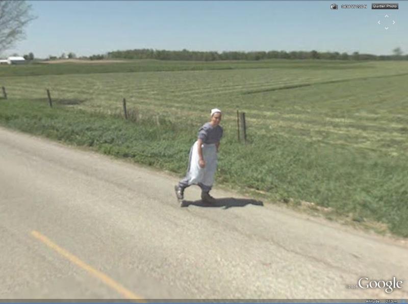 STREET VIEW : à la découverte des Amishs - Page 2 Roller10