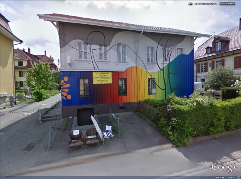 STREET VIEW : les fresques murales - MONDE (hors France) - Page 2 Suisse10
