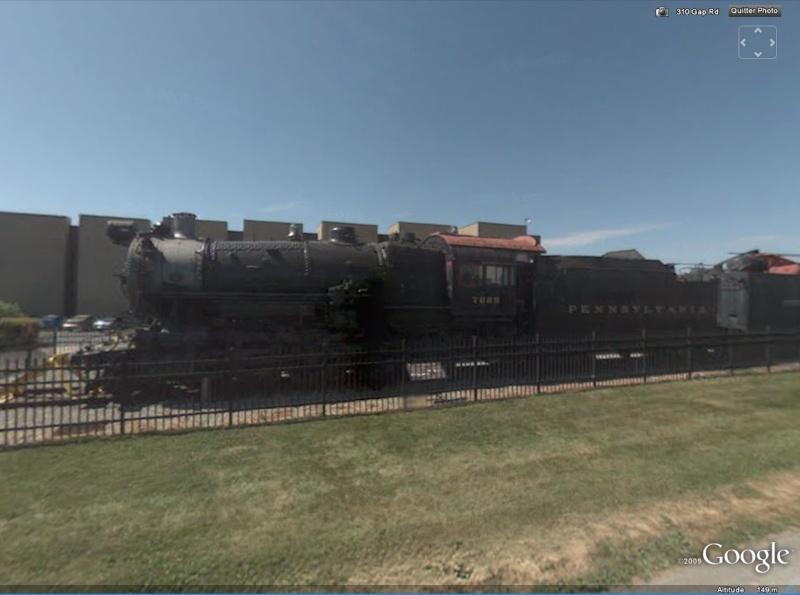 STREET VIEW : Les trains à vapeur dans le monde Train10