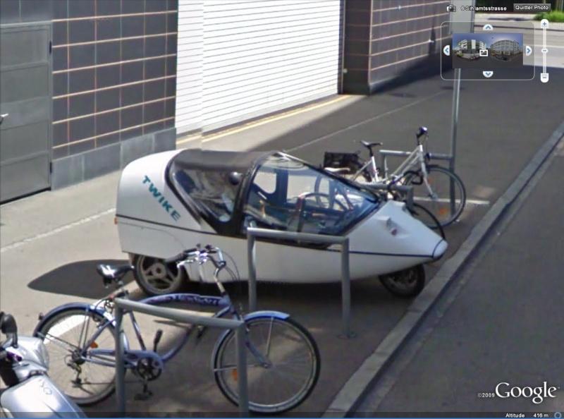 STREET VIEW : triporteurs et autres véhicules à pédales  Twike10