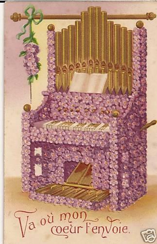 Cartes postales d'harmoniums et de reed organ Carte10