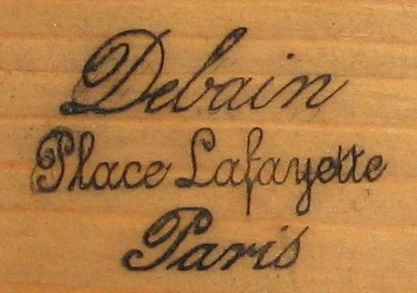 Debain c.1865 (n°10944 / 16944) Marque10
