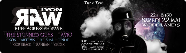 [ R.A.W soutien à Frenetek - 22 Mai 2010 - Woodlands Club - Lyon - FR - Special Guest : AVIO & STUNNED GUYS ] - Page 5 Ban_ra10