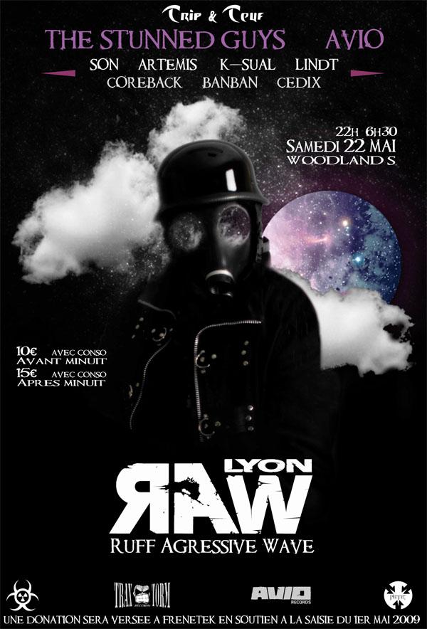 [ R.A.W soutien à Frenetek - 22 Mai 2010 - Woodlands Club - Lyon - FR - Special Guest : AVIO & STUNNED GUYS ] - Page 5 Raw_fr12