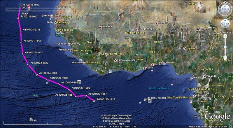 Viagem à vela entre Mindelo (Cabo Verde) e Luanda (Angola) Adrian11